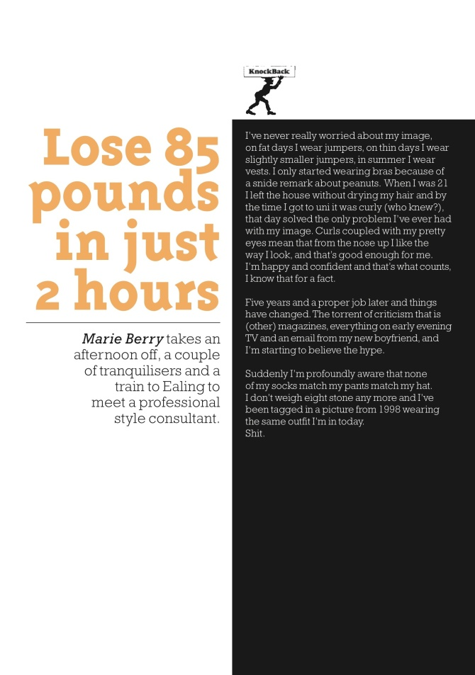Lose pounds page 1